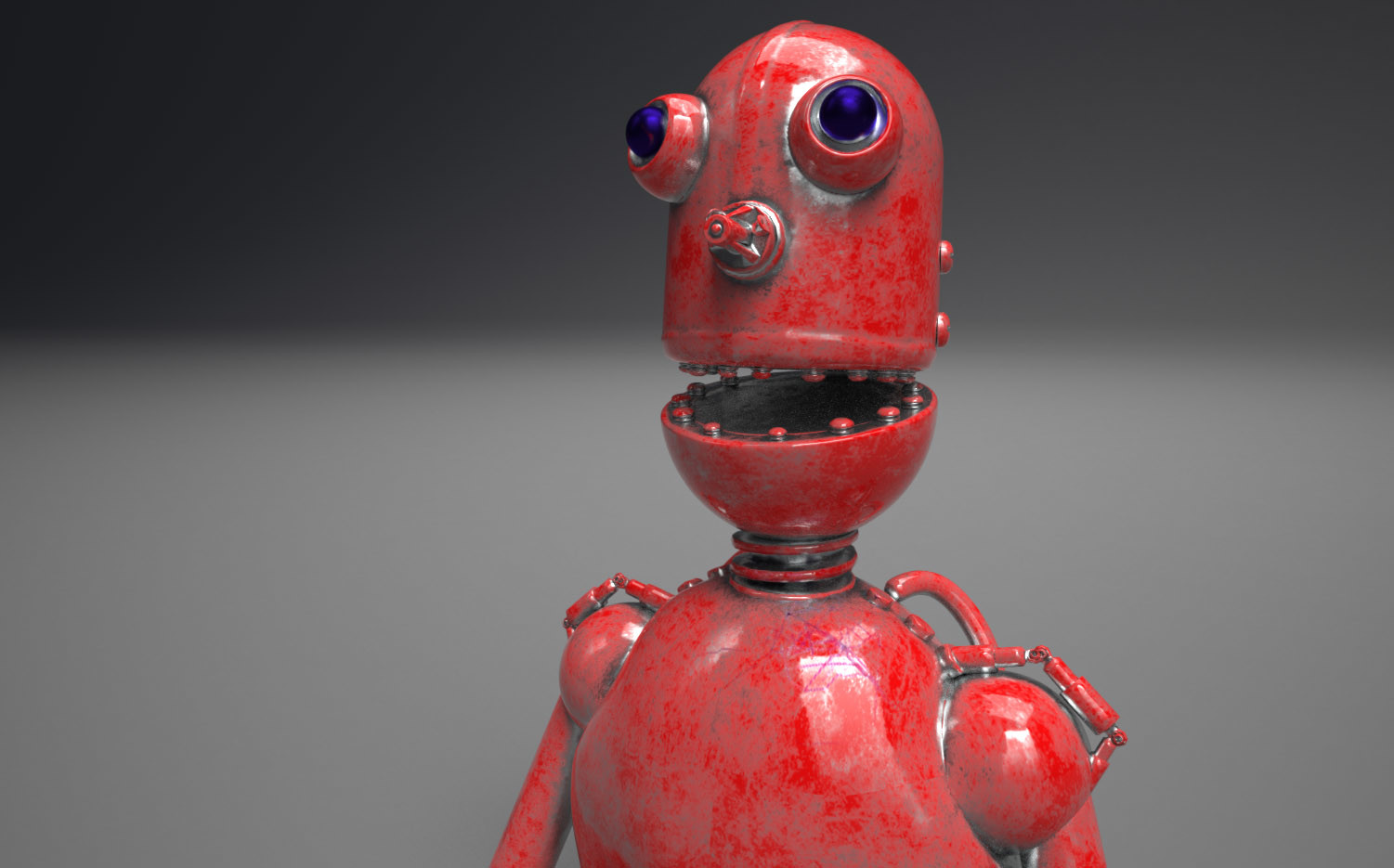 Barry mccarthy robot render