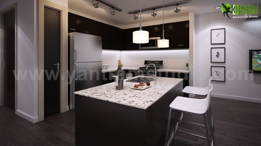 Amazing Kitchen 3D Interior Designers Tips And Tricks