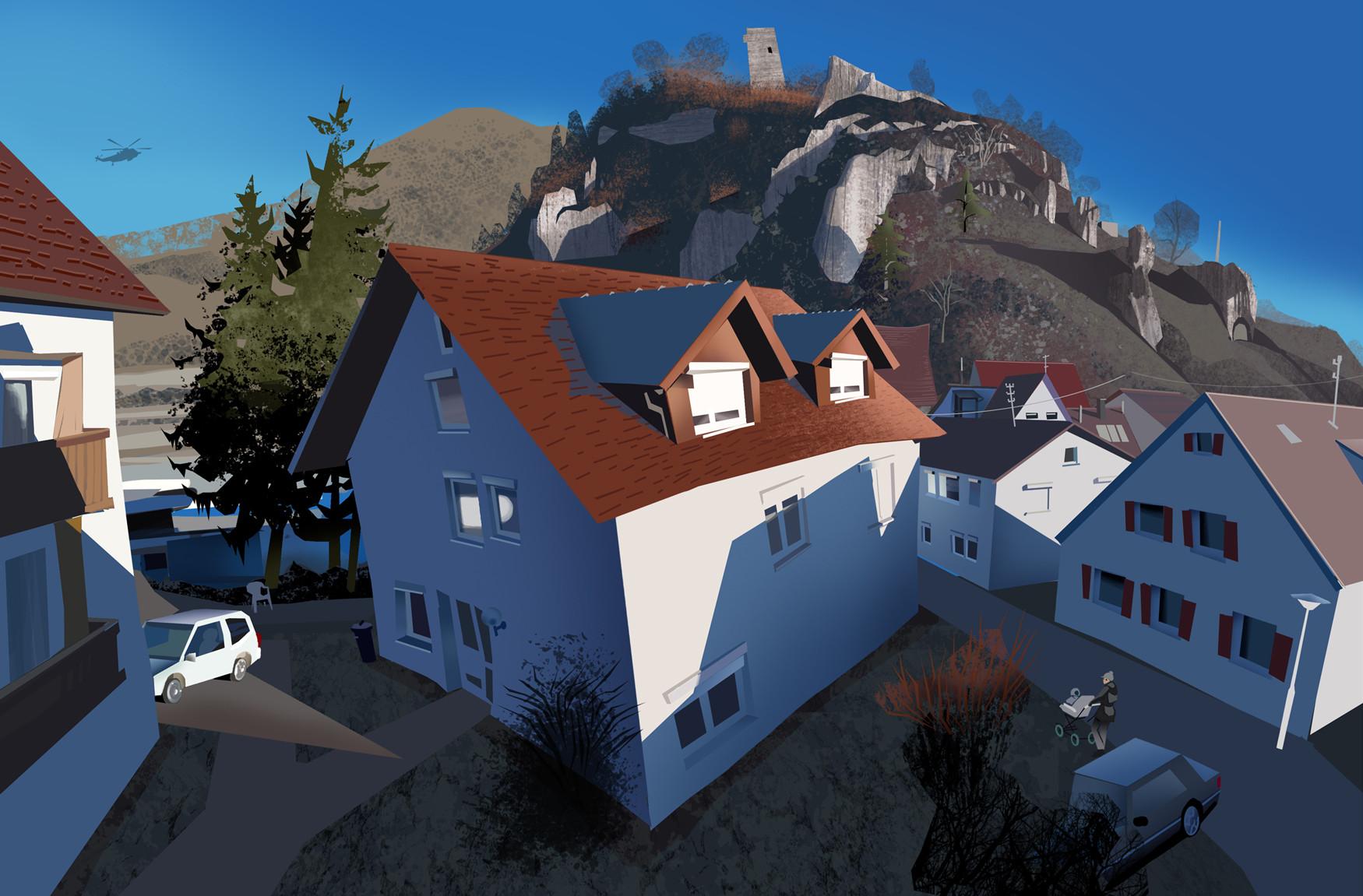 Harald ardeias small village 1