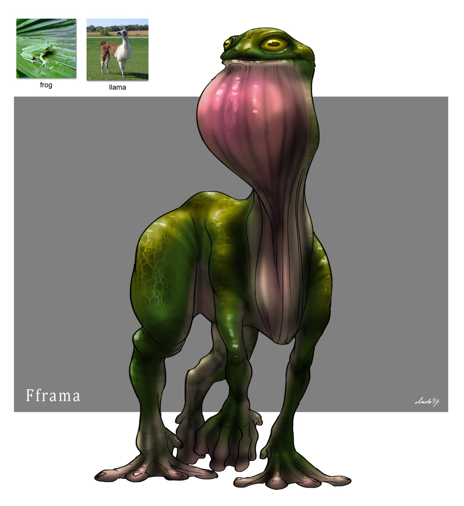 Midhat kapetanovic random creature mashup 026 fframa