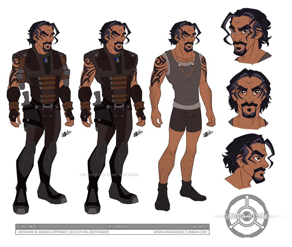 Tiago Character Design
