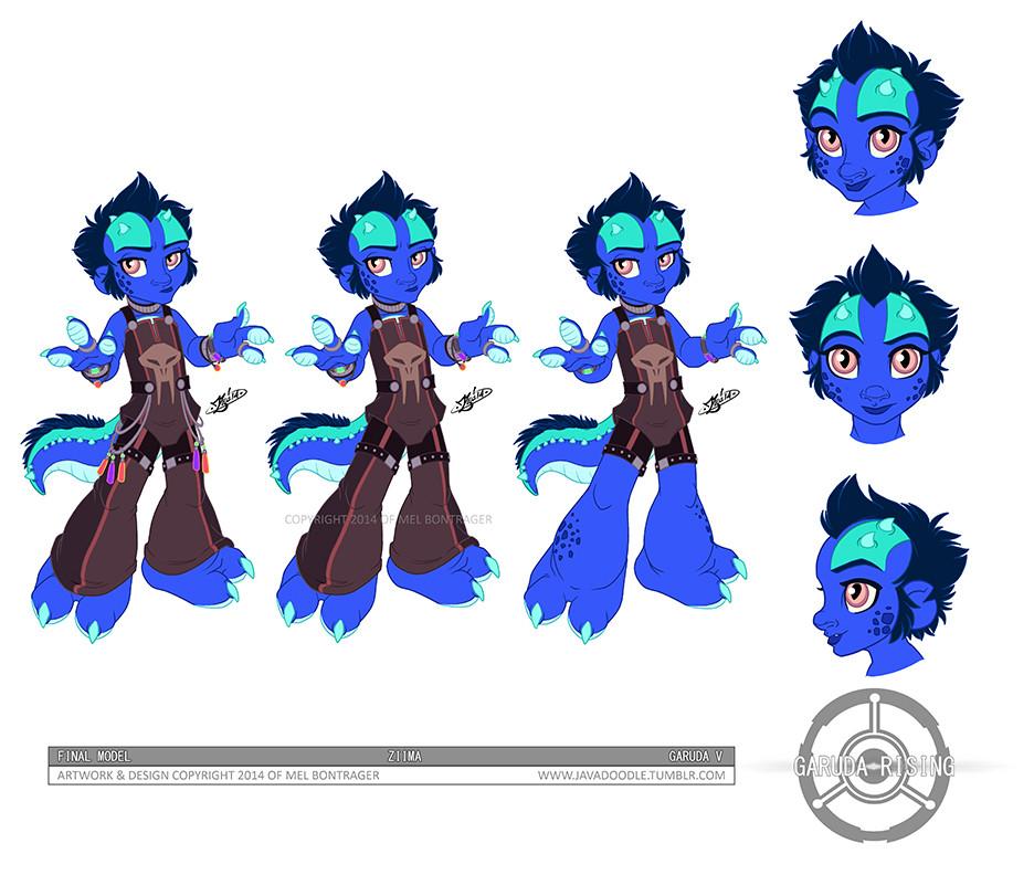 Ziima Character Design