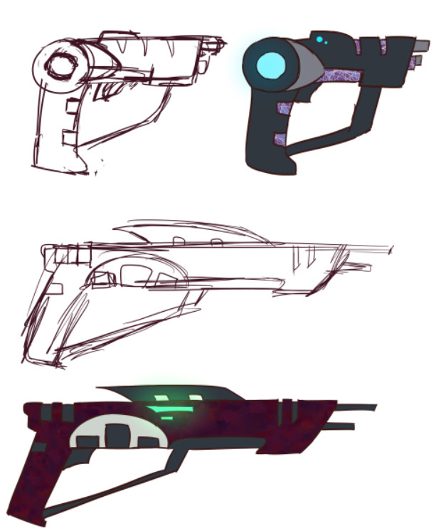 Guns concept