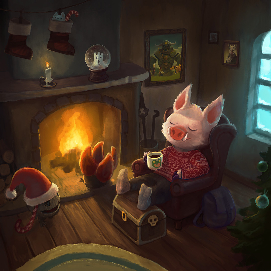 Gnart's holiday illustration