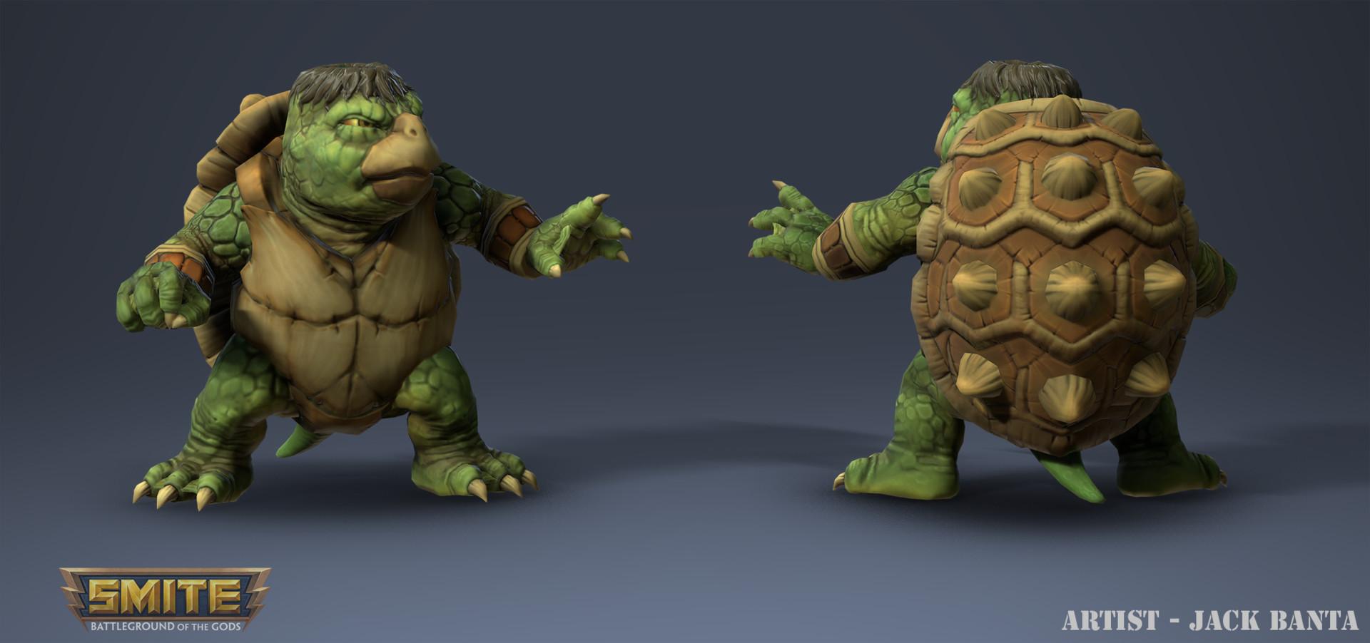 Jack banta smite turtle image