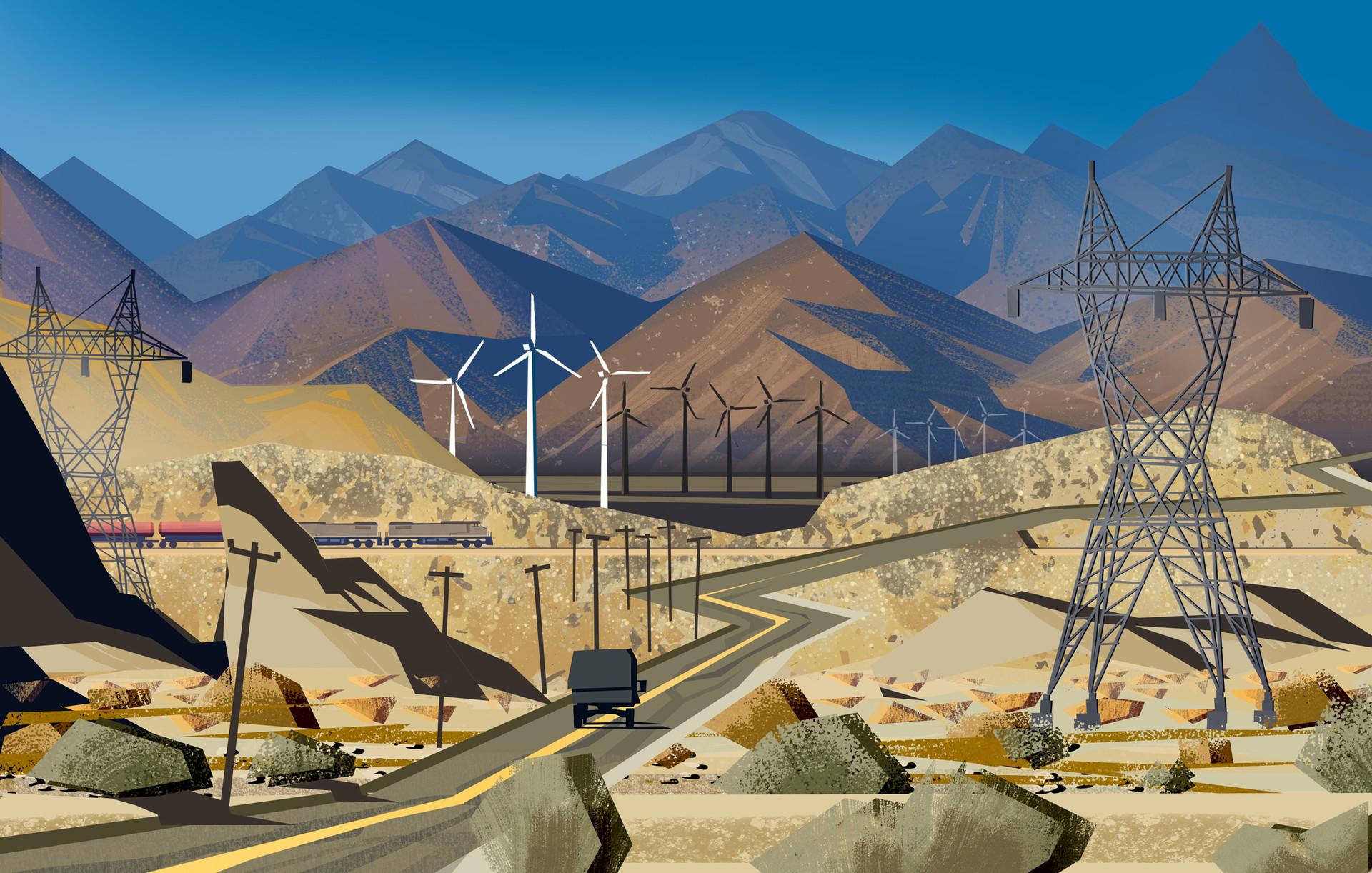 Harald ardeias wind mills