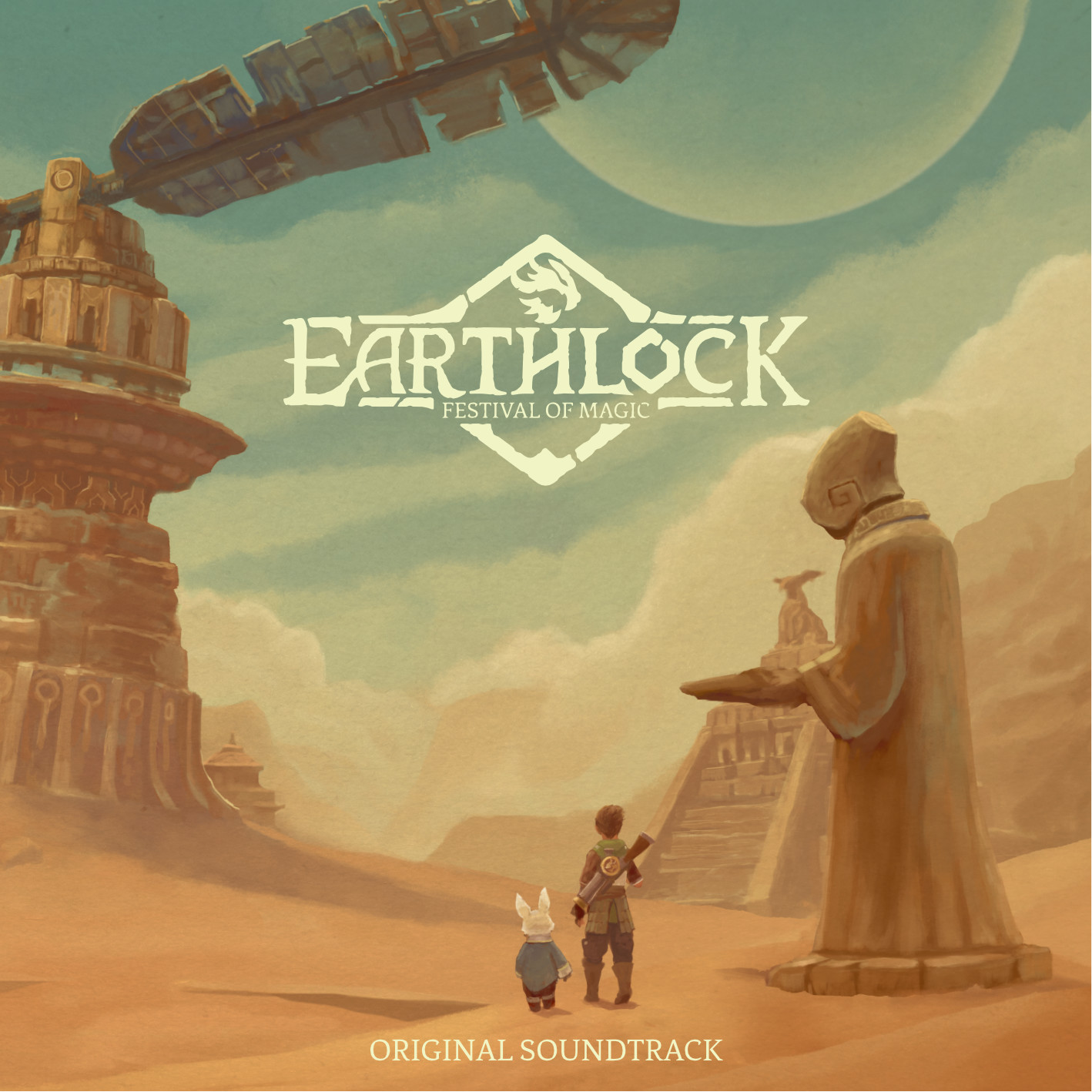 Earthlock OST cover graphics