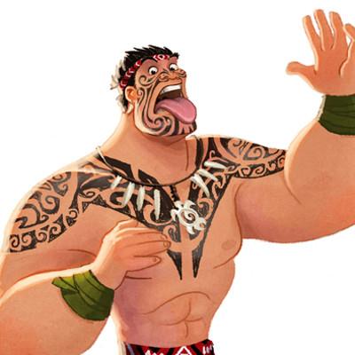 Michael dashow maori warrior 610x850