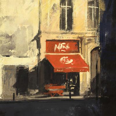 Duncan halleck brussels cafe