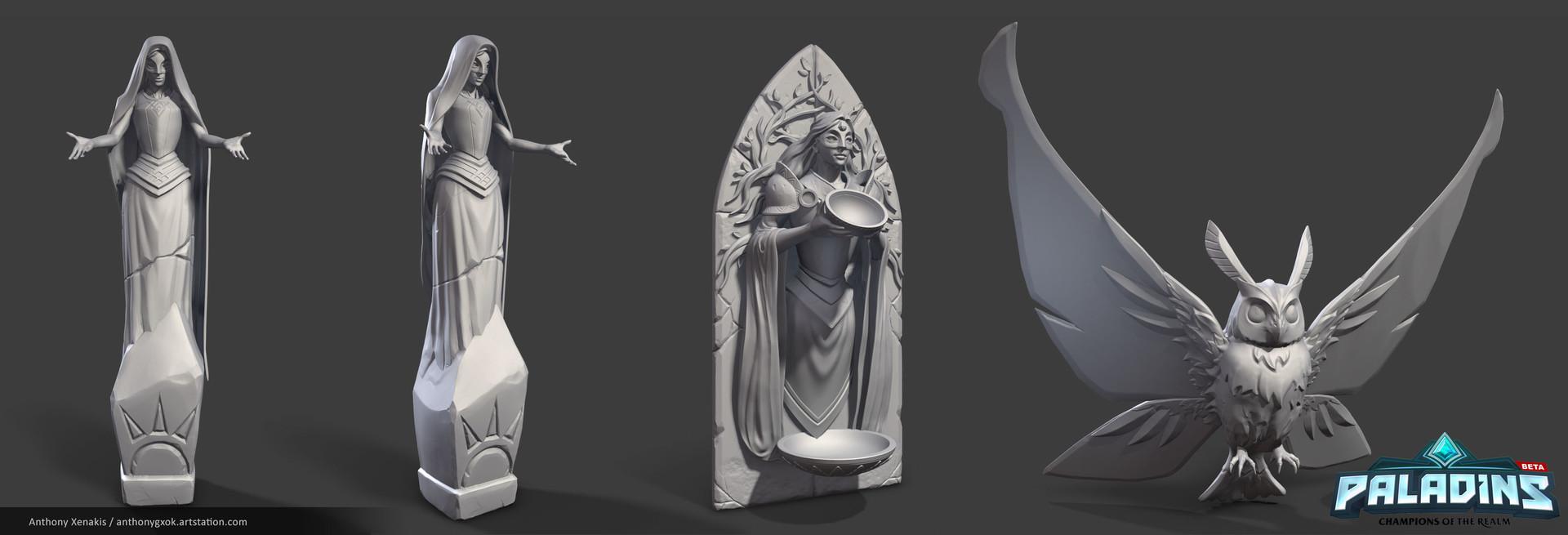 Anthony xenakis statueabowl renders2