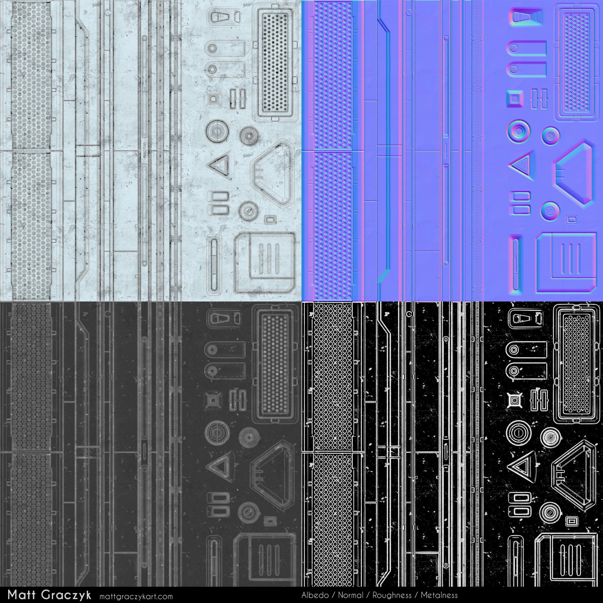Matt graczyk scifi textures 01