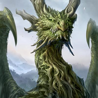 Sandara tang dragon bust