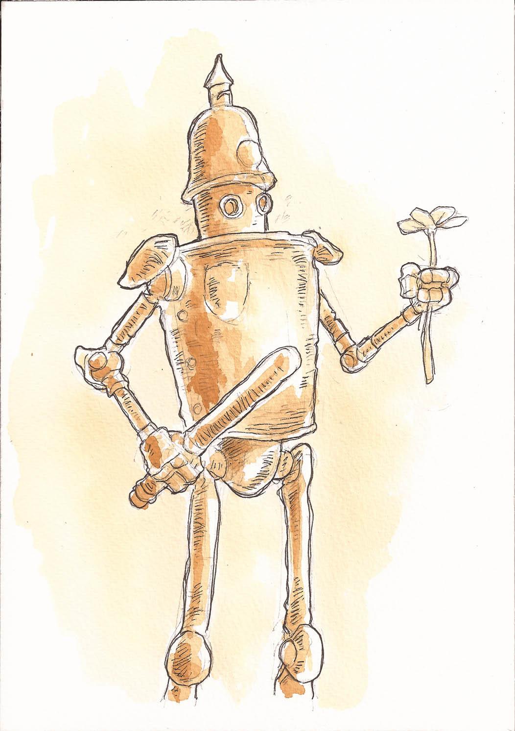 L.O.-L.O. copper bot!