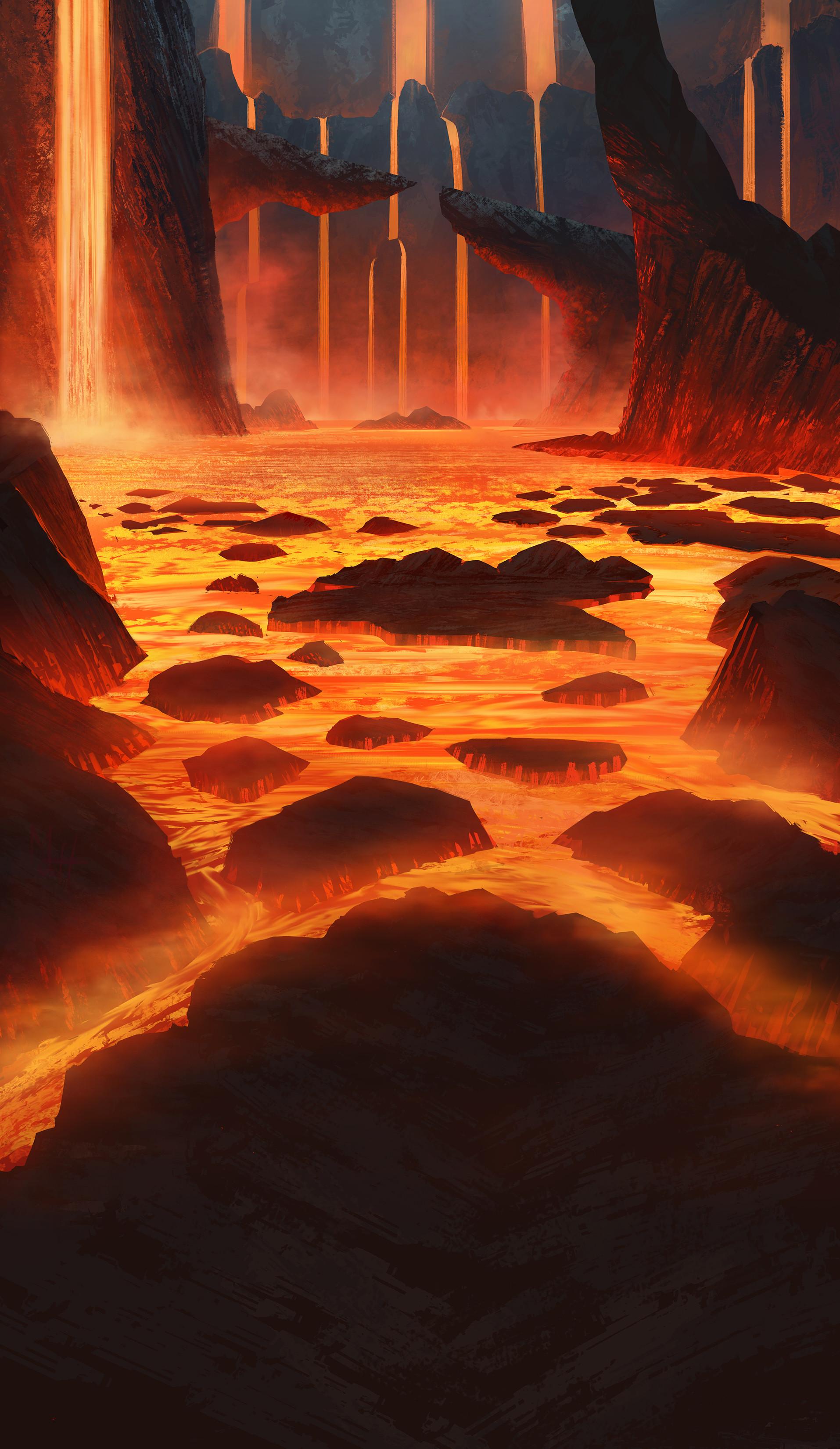 Volcano Interior
