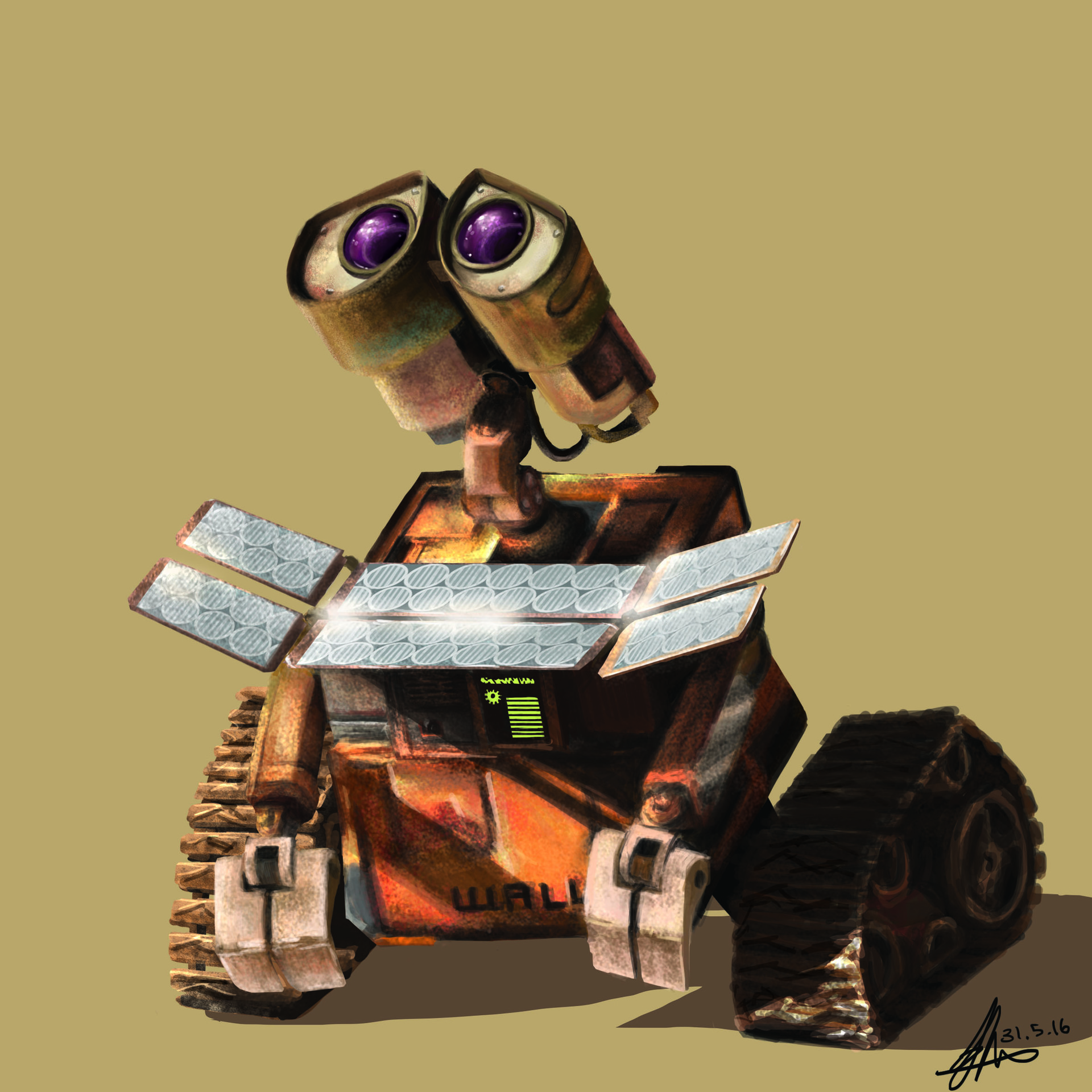 Exelent Wall E Birthday Party Decorations Sketch - Wall Art ...