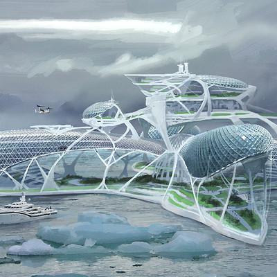 Yohann schepacz oxan studio arctic resort 01