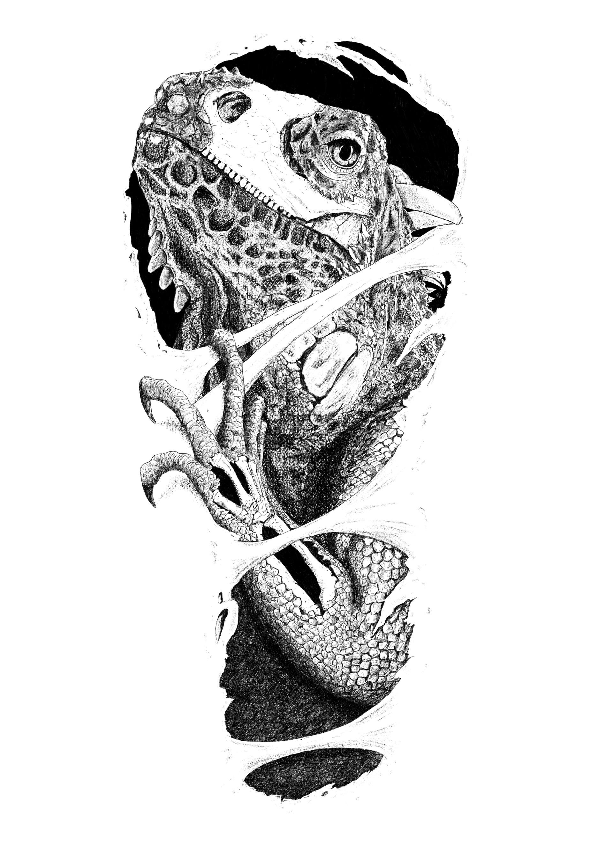 Fabyan pasteleurs dieter leguaan tattoo design
