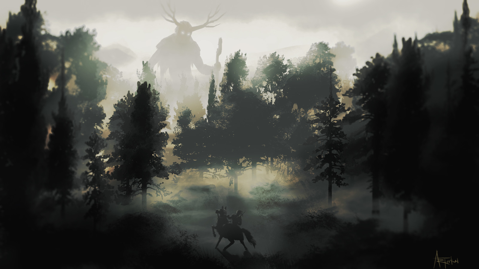 Speed Paint: Deep in the Forest