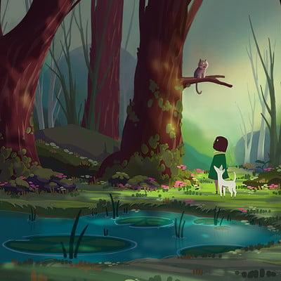 Iris tian forest 08