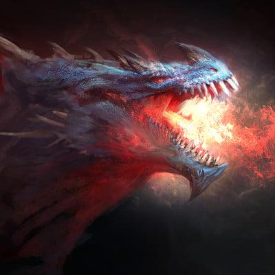 Antonio j manzanedo dragon subasta color7 firma mejorada