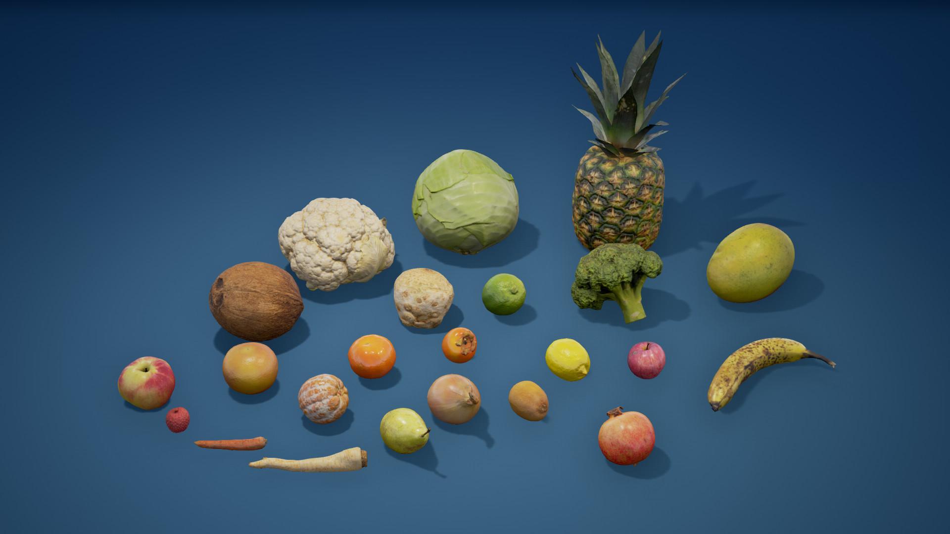 Krystian radziszewski photoscanned fruit and vegetables screenshot 0005