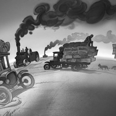 Harald ardeias smoke truck
