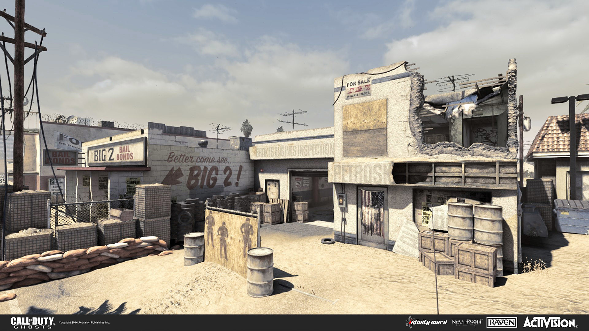 Artstation Call Of Duty Ghosts Multiplayer Map Octane Will