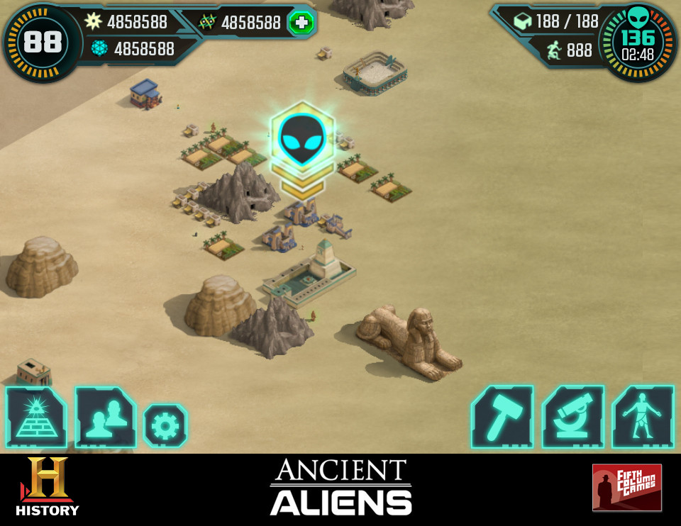 Ancient Aliens: The Game - HUD