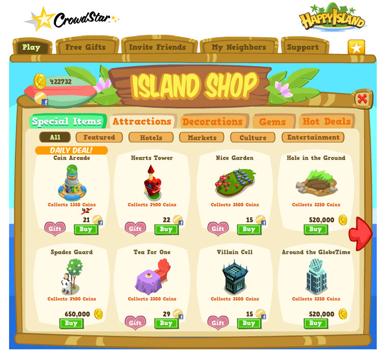 Brandon jones happyisland ui shop