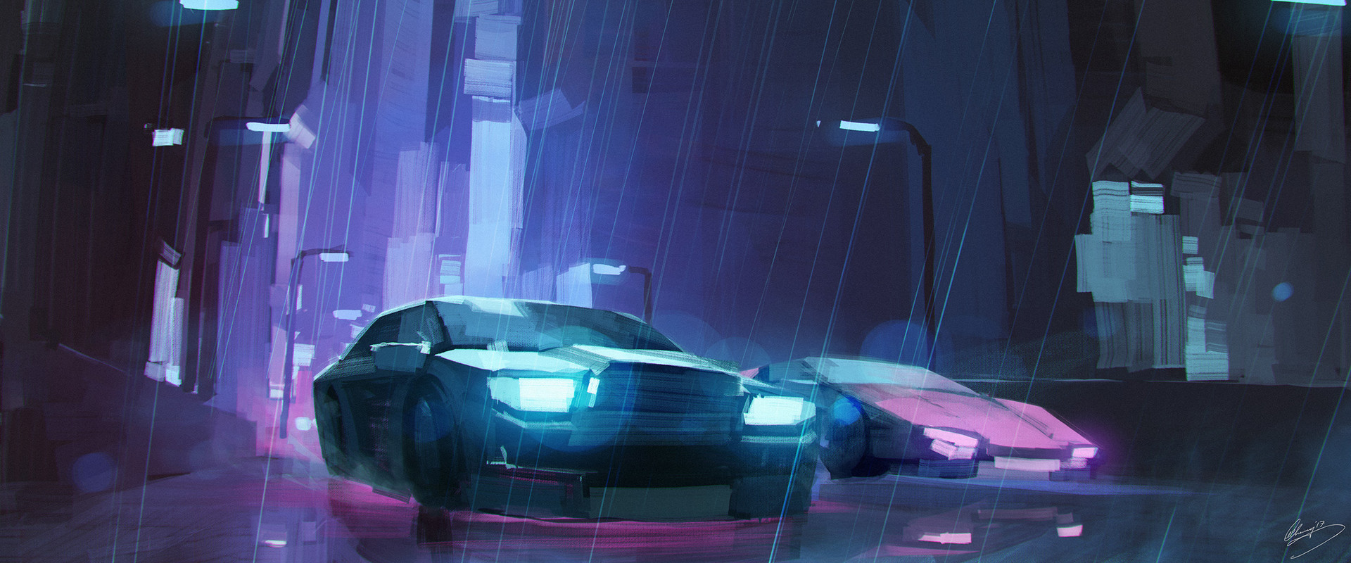 Lap pun cheung cinematic neon racers online