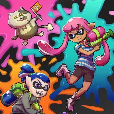 Amy gerardy splatoon tumblr