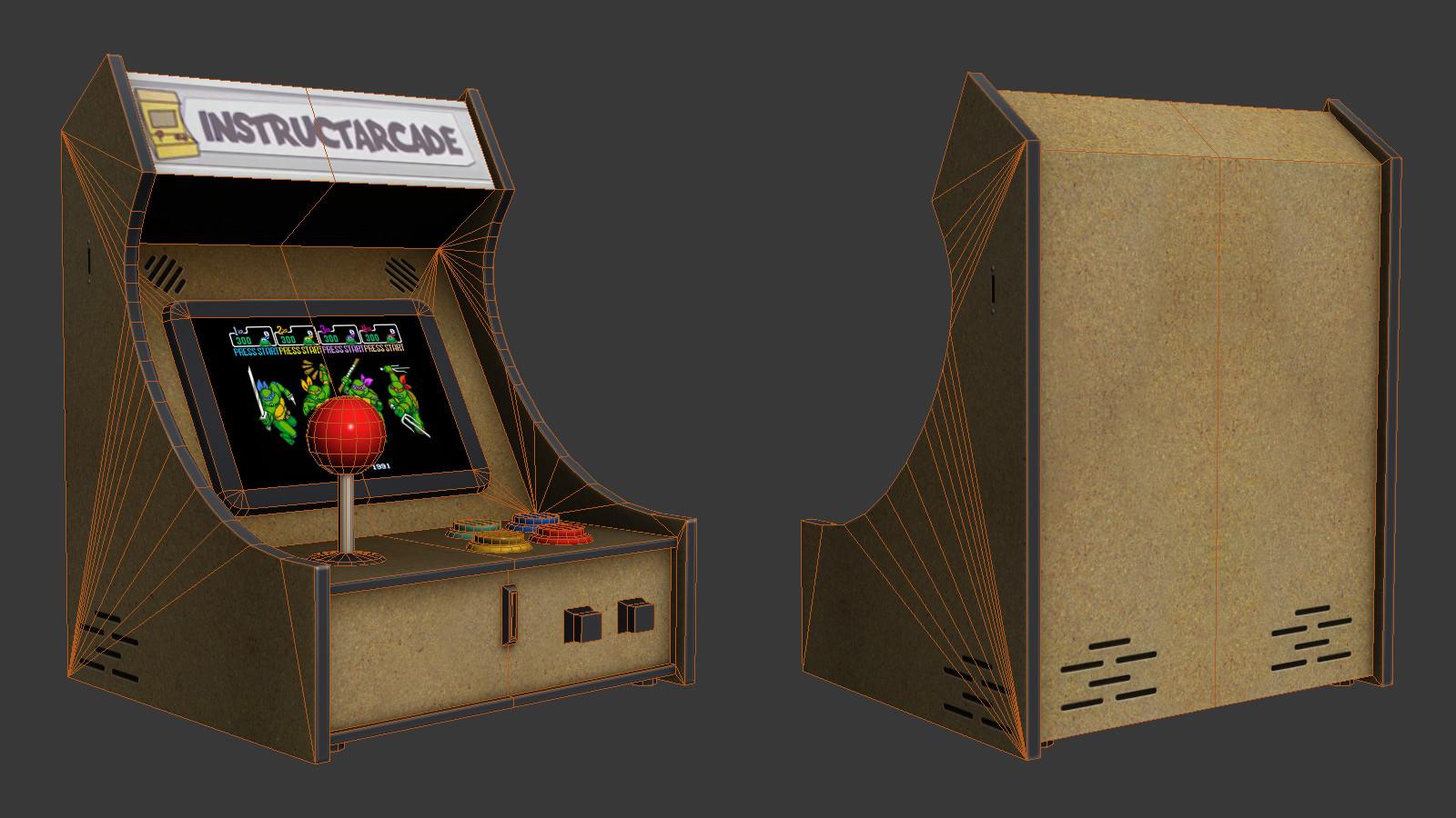Oziel leal salinas arcade2
