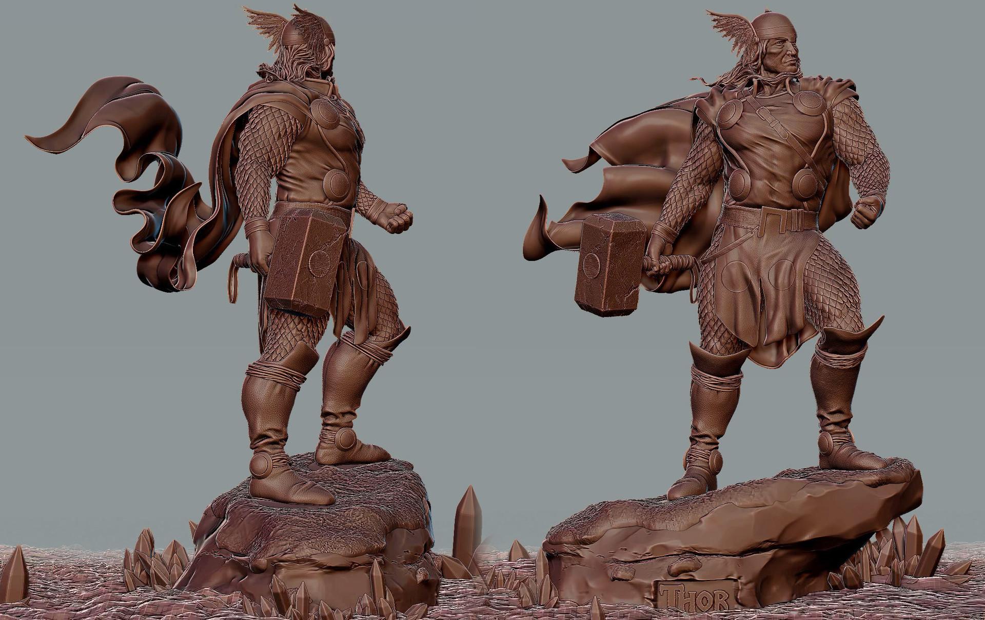 Muhammx waseem thor sculpt