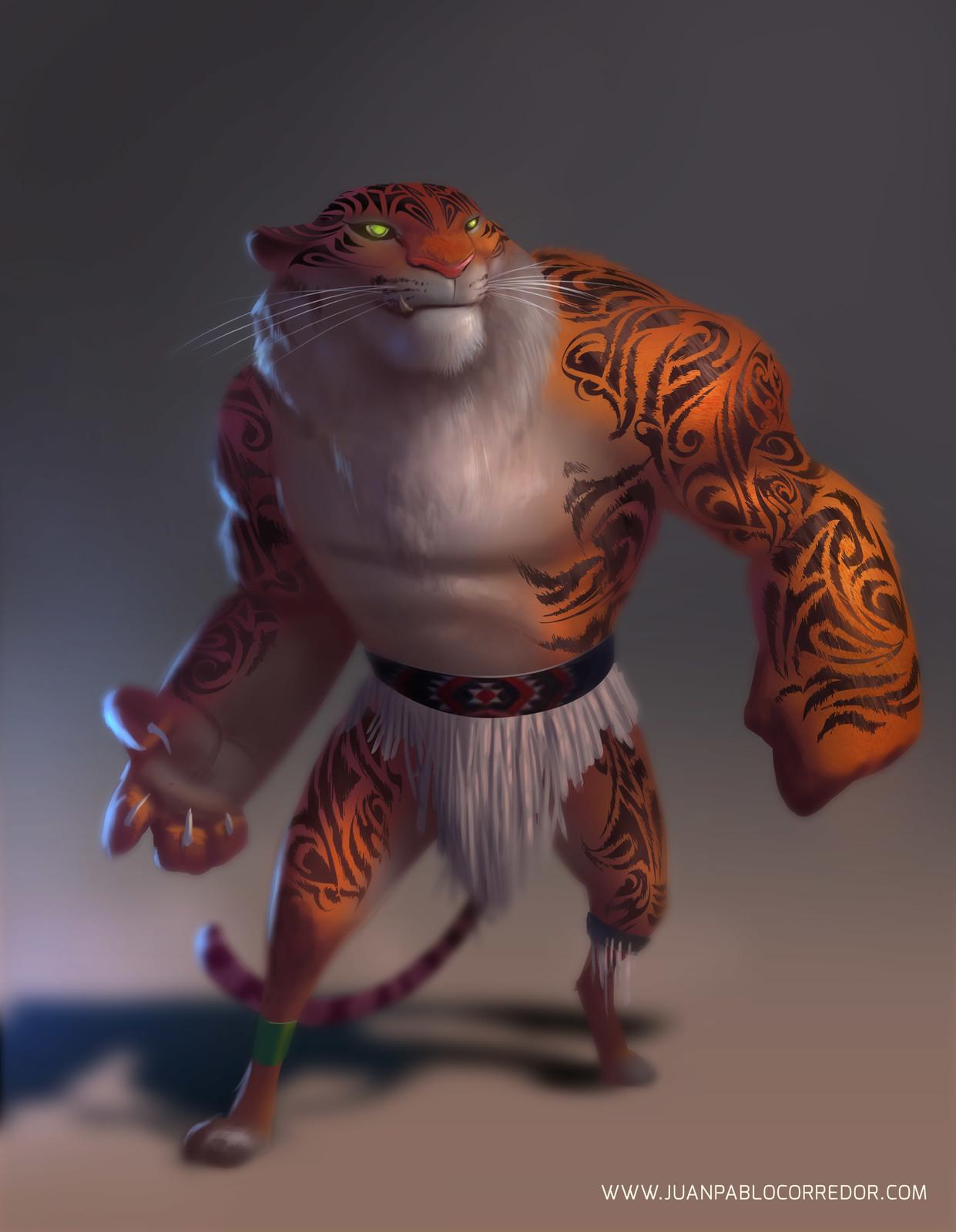 Maori Tiger