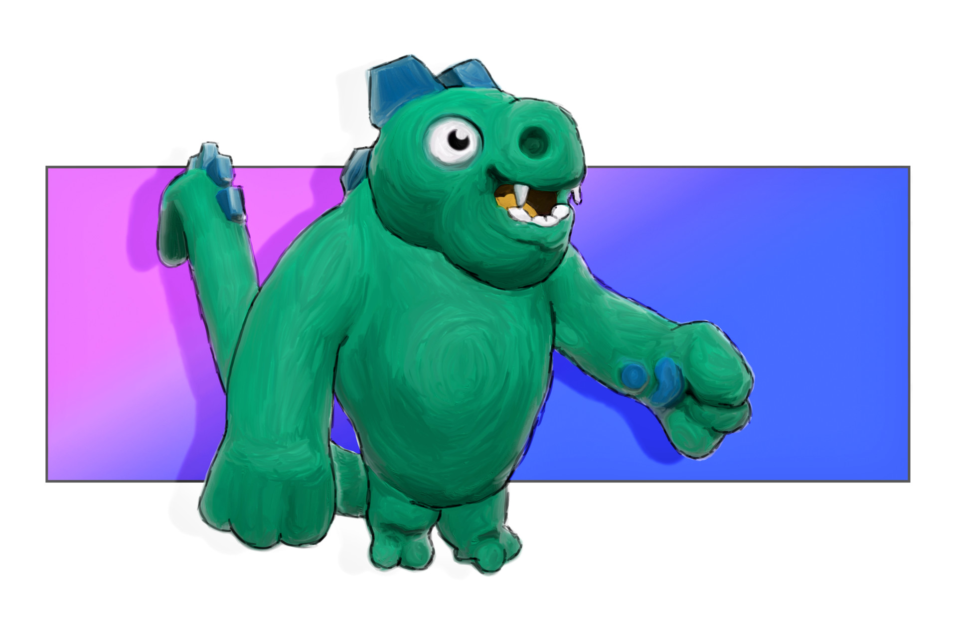 Scout windsor dino paint edit