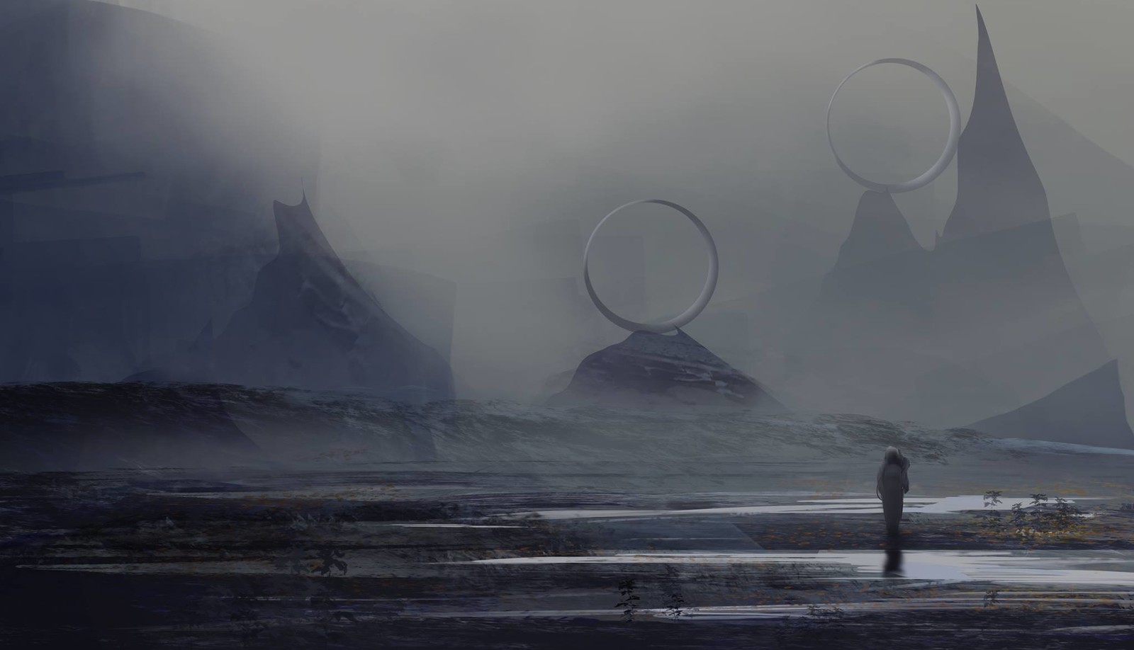 The great rings - 30 min (Daily spitpaint)