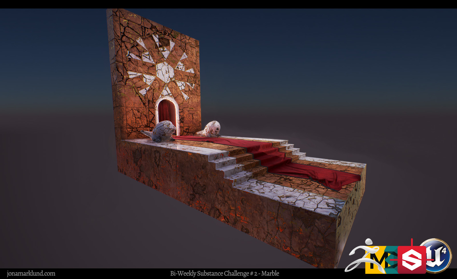 Real-Time Rendering Engine Tes #01