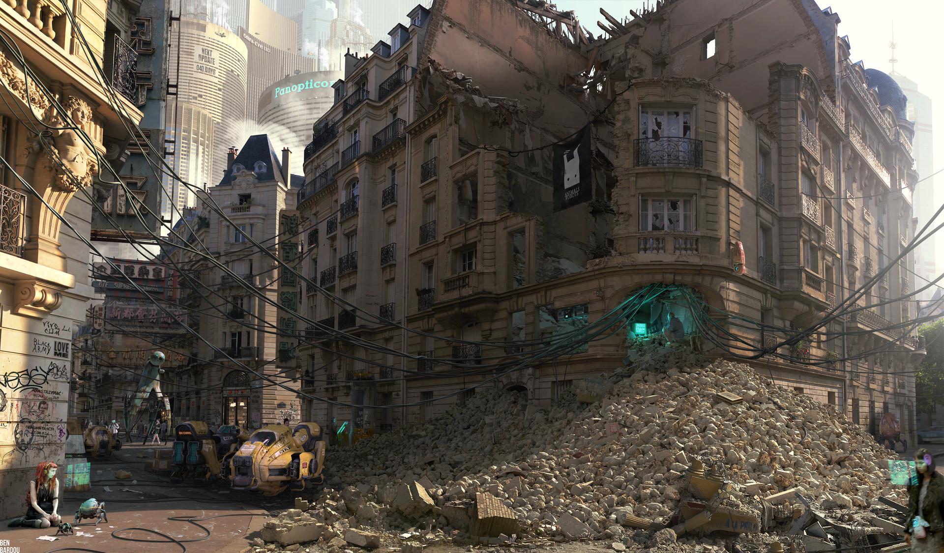 Benjamin bardou paris megalopolis 4096