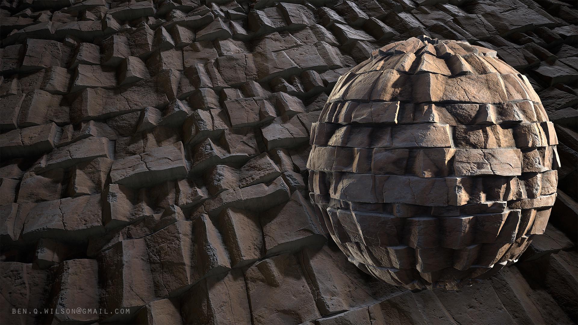 Ben wilson rock cliff a render 03