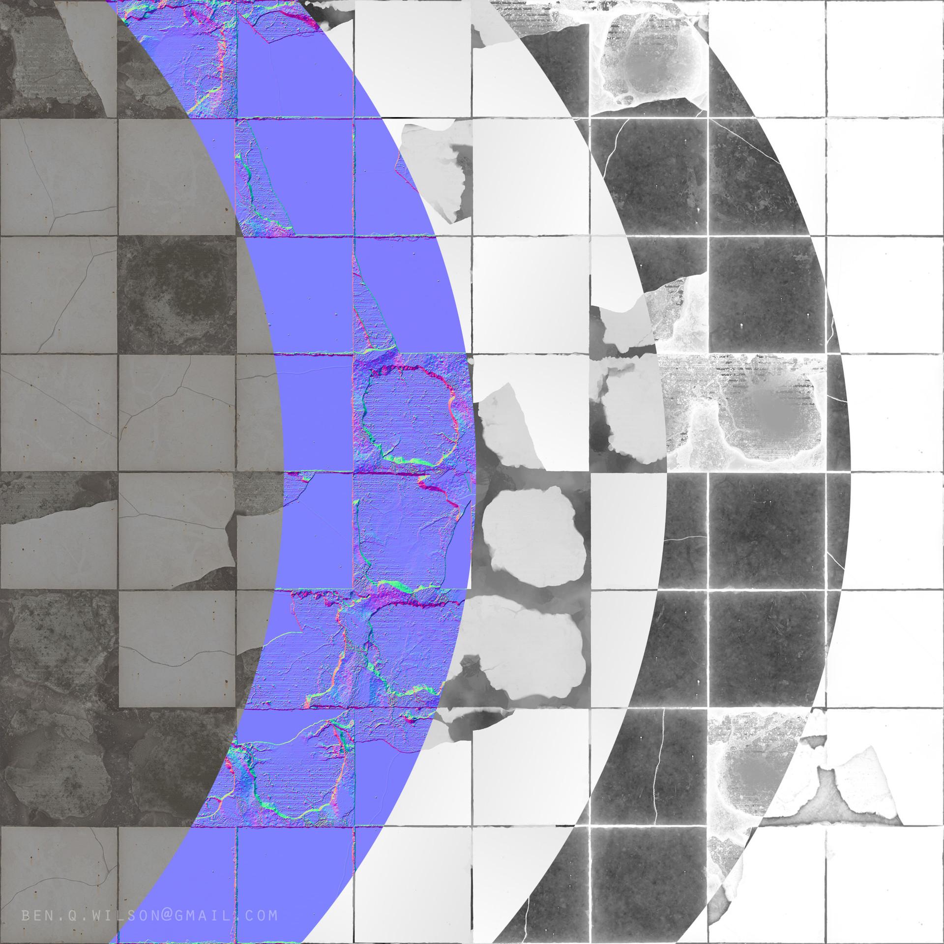 Ben wilson broken tiles a render 3
