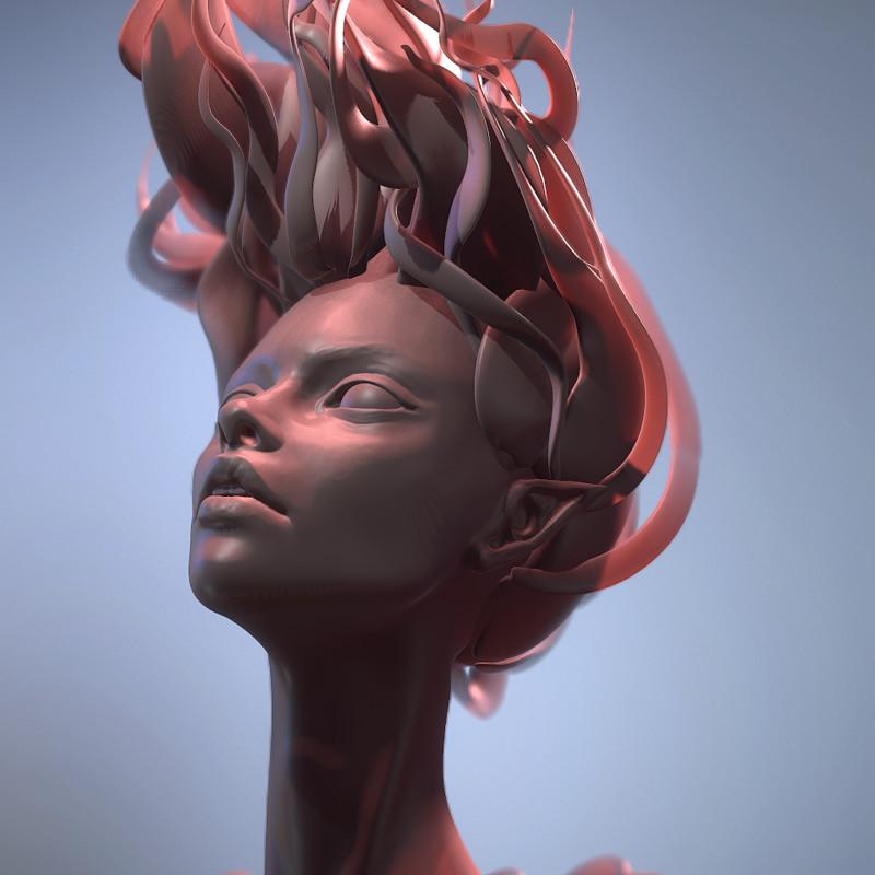 Falling - Sculpt