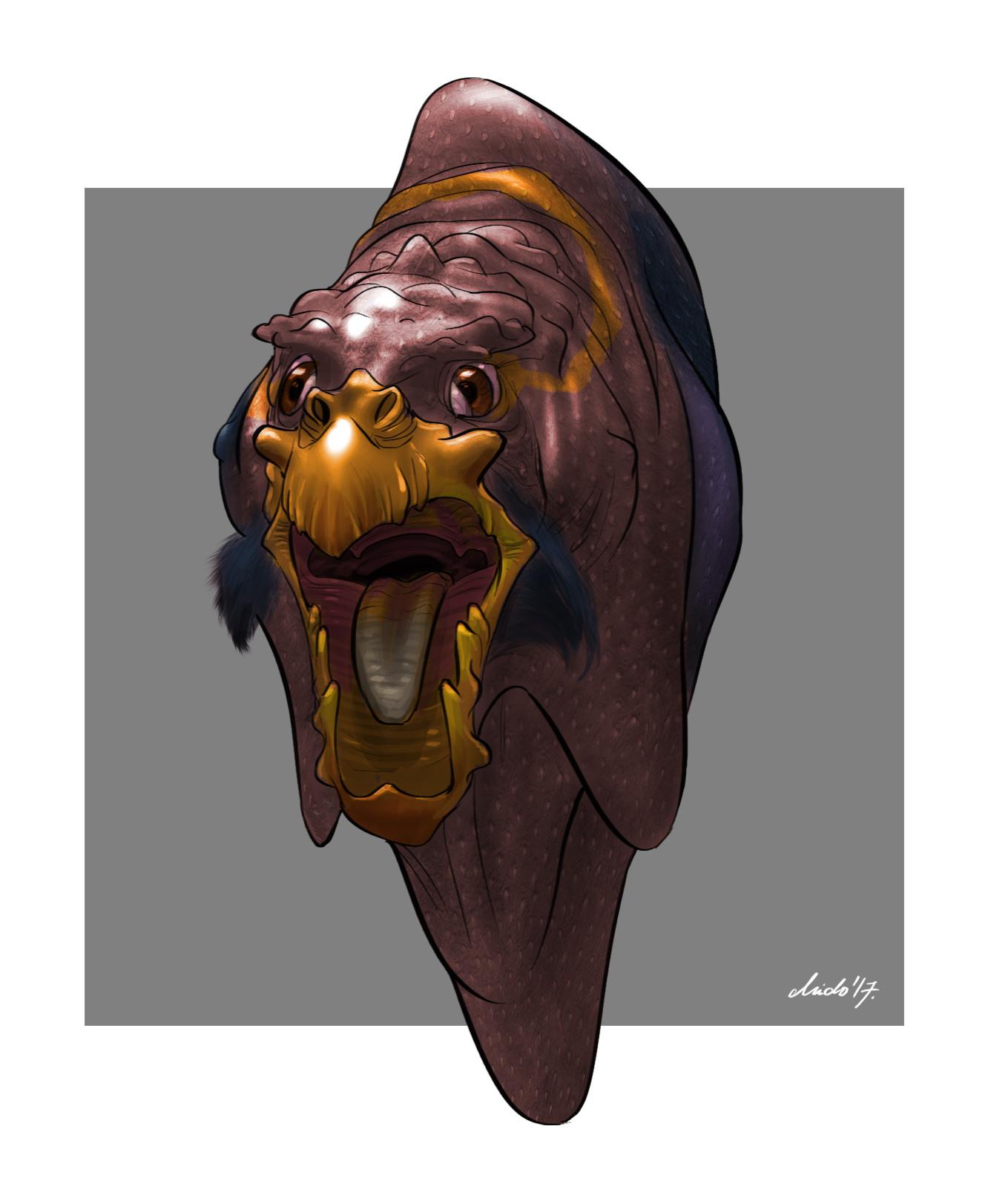 Midhat kapetanovic random creature mashup 027 wart bird hex