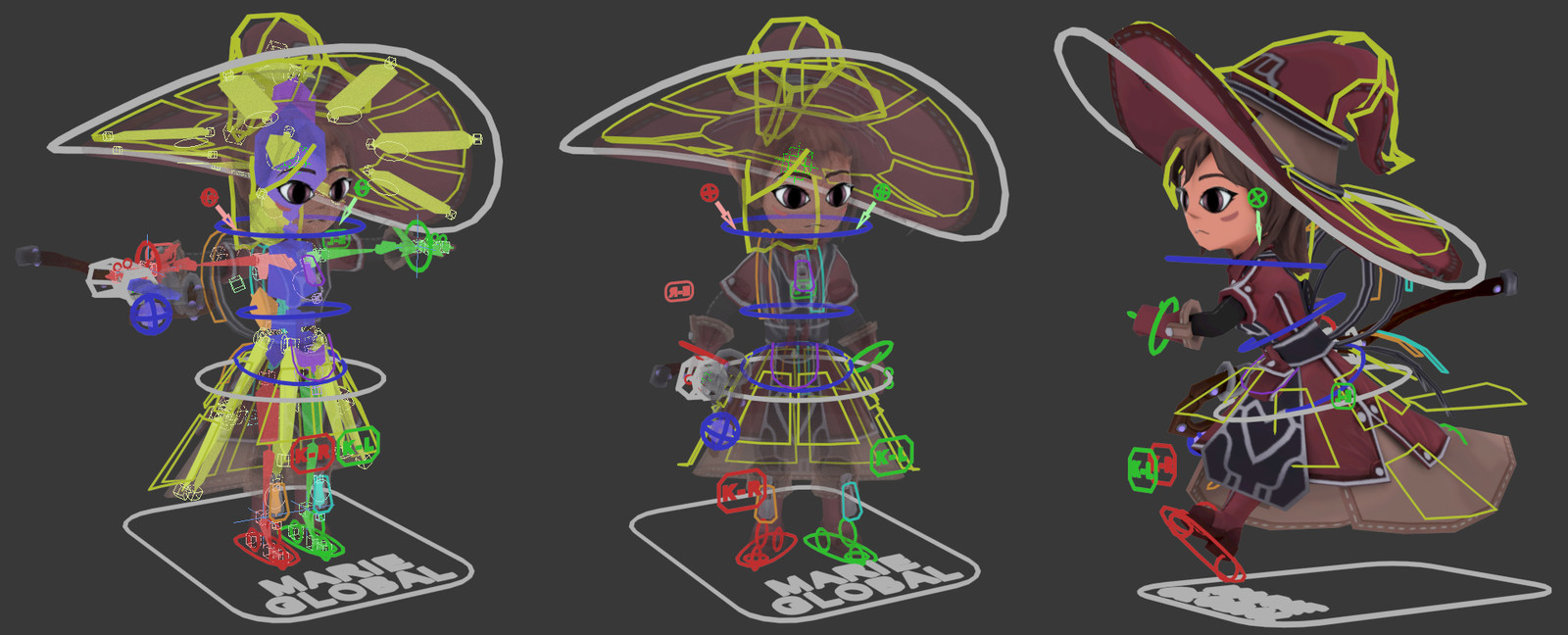 Some simple screen captures of the rig.