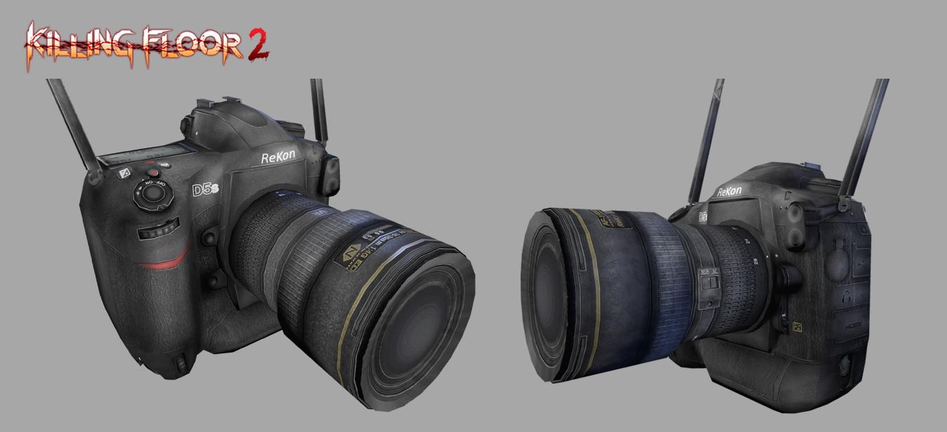 ArtStation - Killing Floor 2 - Ana's Camera, Marco Angelo Valiao