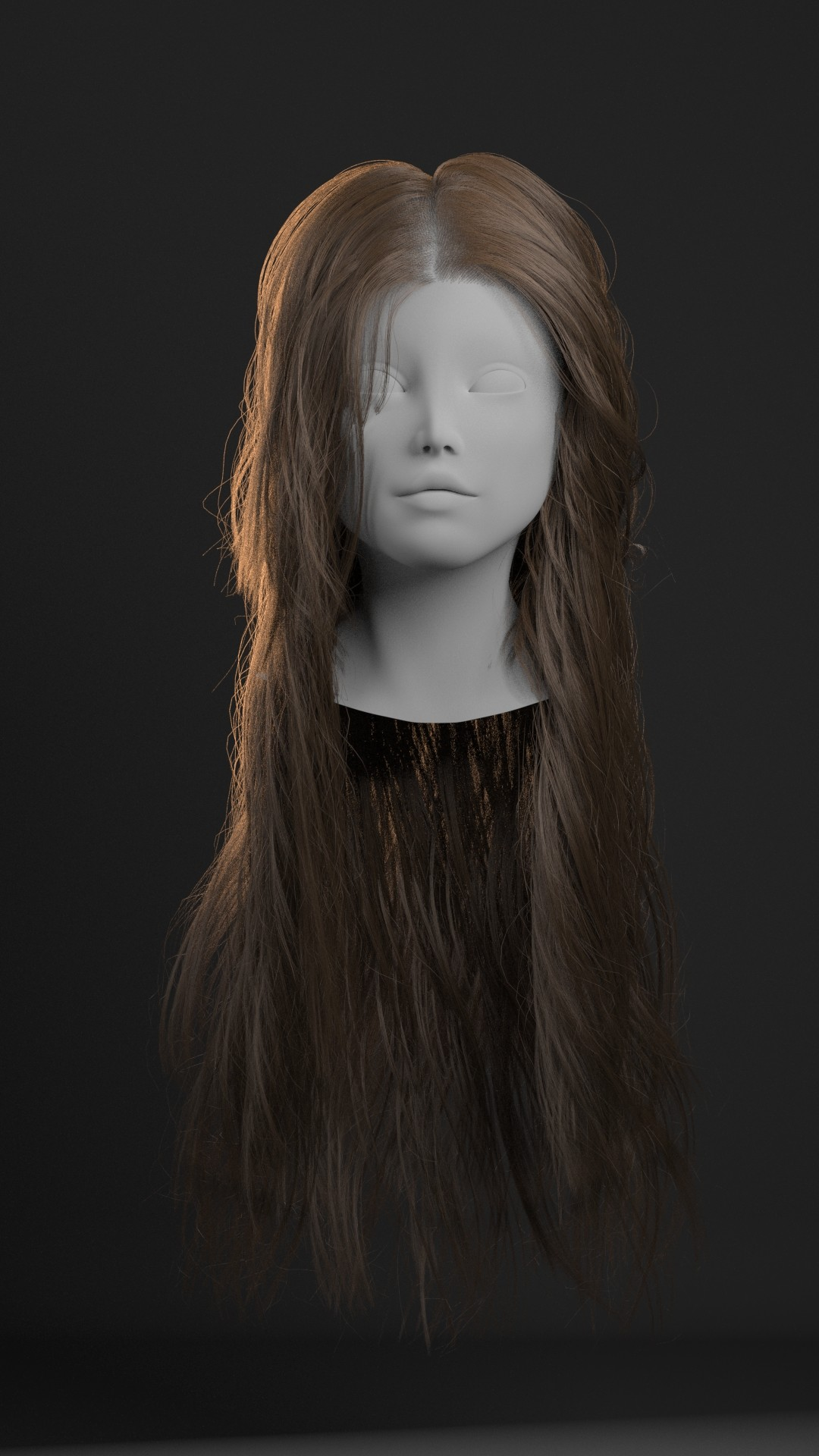 ArtStation Realistic Hair Tutorial Using XGen Redshift Obaida Hamdi
