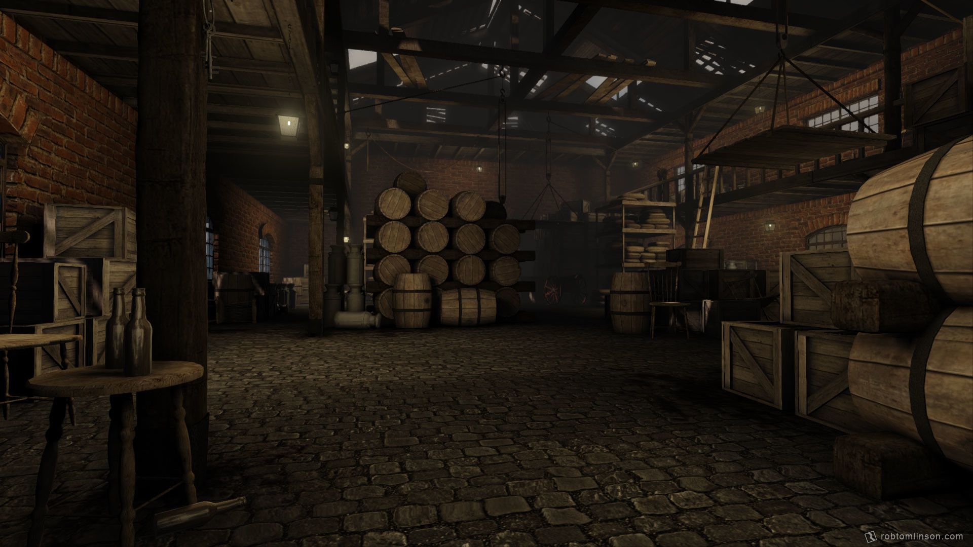 Rob tomlinson warehouse 1
