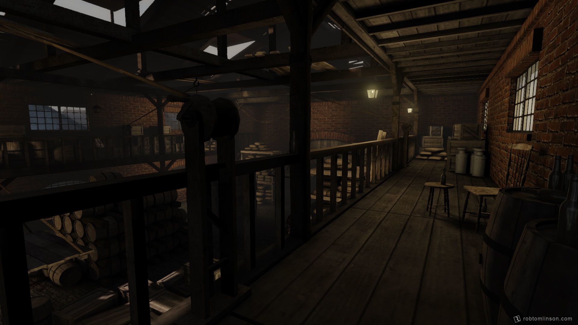 Rob tomlinson warehouse 3