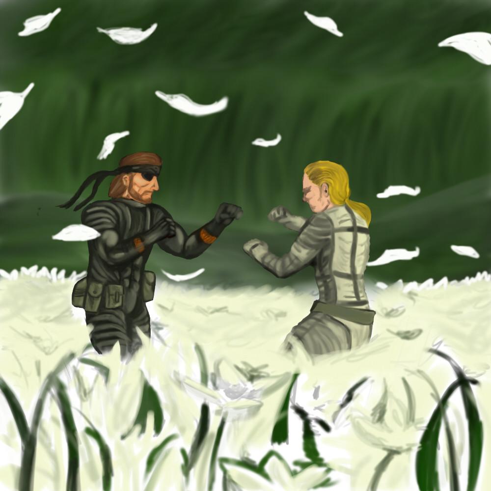 Artstation Metal Gear Solid 3 Snake Eater Fan Poster