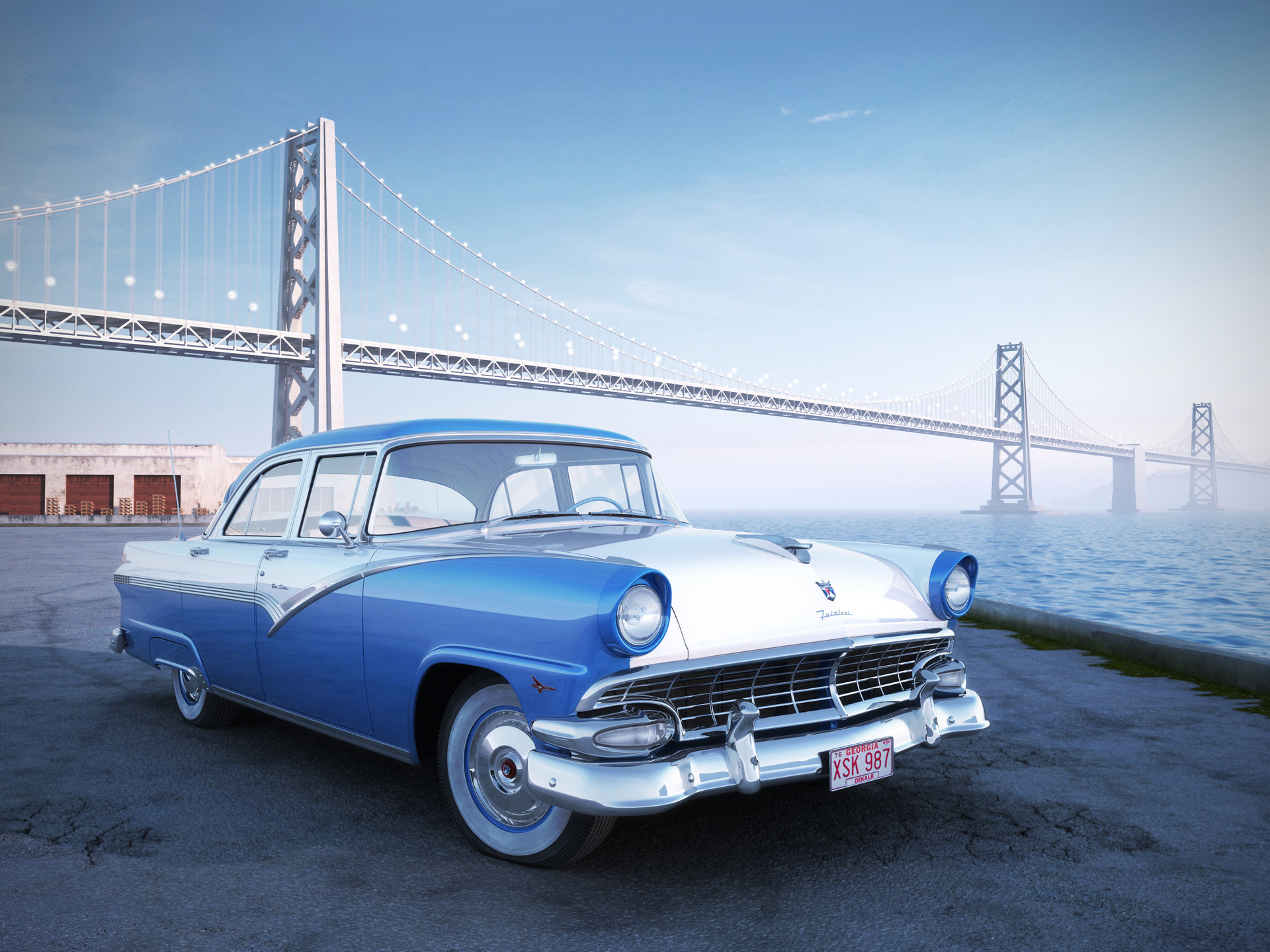 Nail khusnutdinov ford fairlane 56 bridge