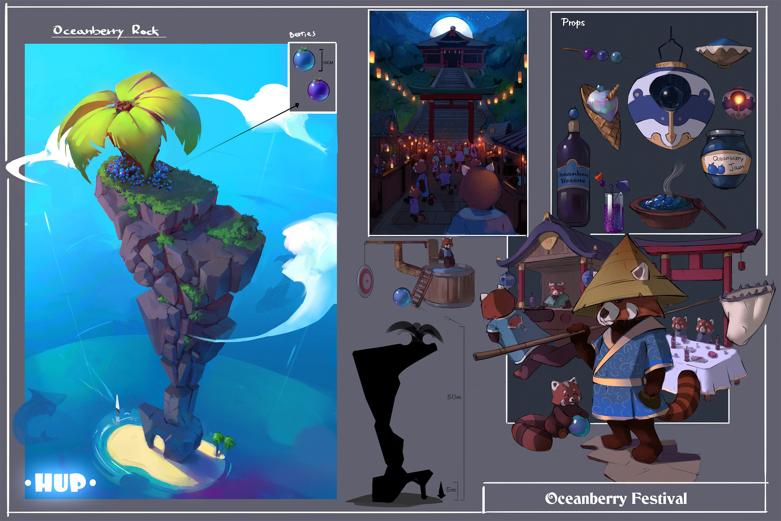 Hup - Oceanberry festival